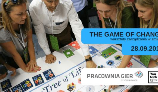 The Game of Change – warsztaty zarządzania w zmianie